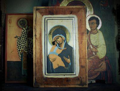 ikona klasyczna - Matka Boża Włodzimierska