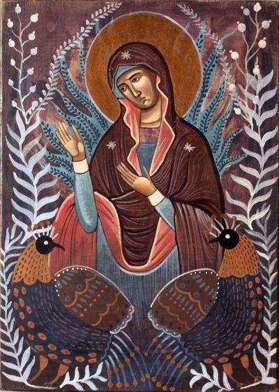 Ikona Matka Boża i Bażanty