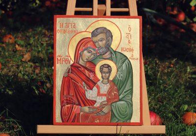Ikona klasyczna - Święta rodzina