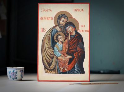 Ikona klasyczna - Św Rodzina